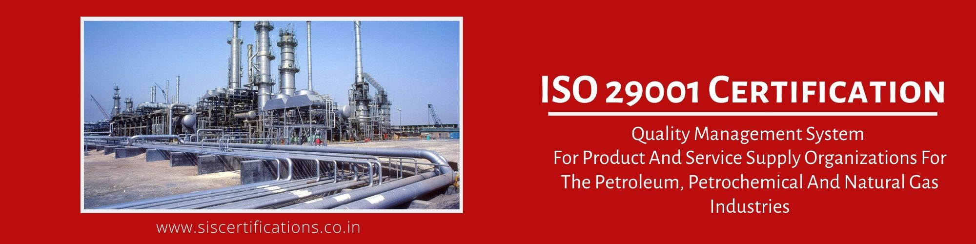 ISO 29001 Certification, ISO 29001 Certification