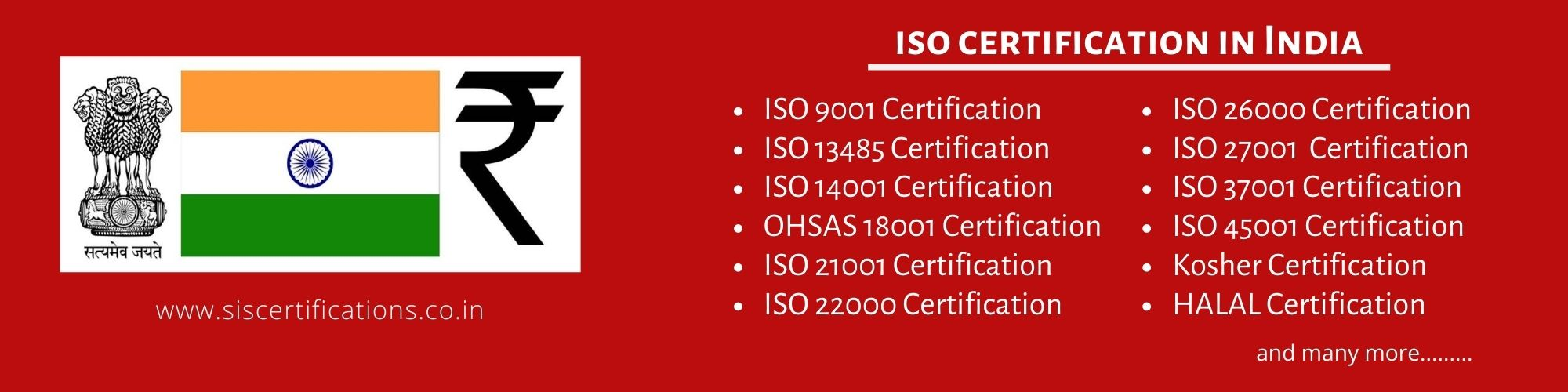 ISO Certification in India , process ISO Certification in India