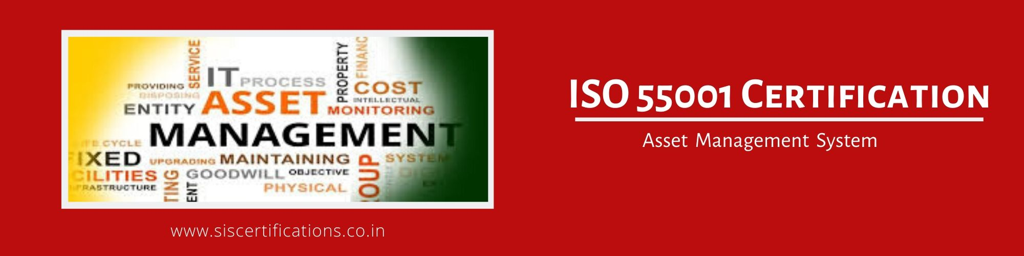 ISO 55001 Certification , ISO 55001 Certification