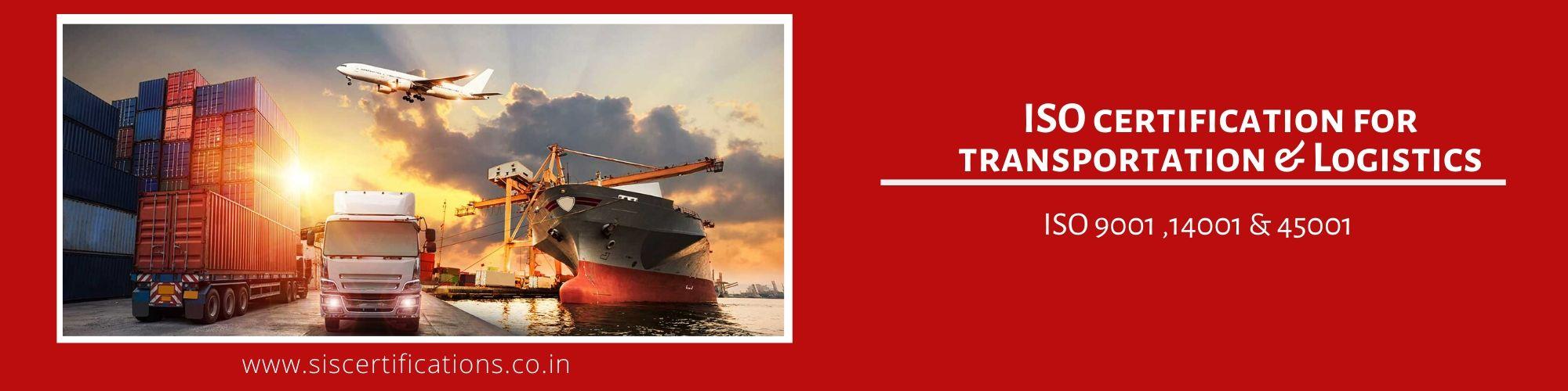 ISO Certification For Transportation & Logistics , ISO Certification For Transportation & Logistics