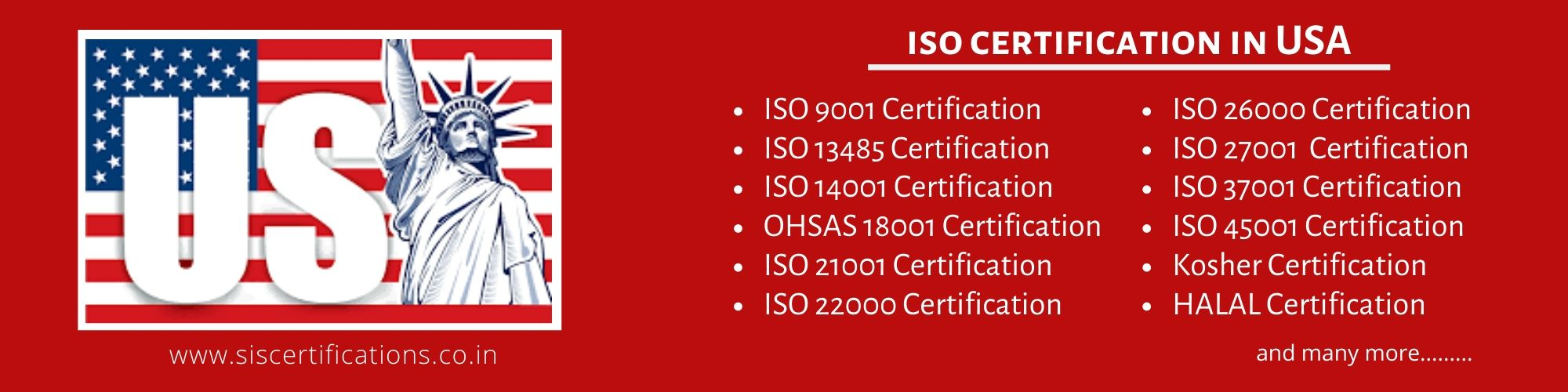 ISO 9001 Certification in USA , ISO 9001 Certification in USA