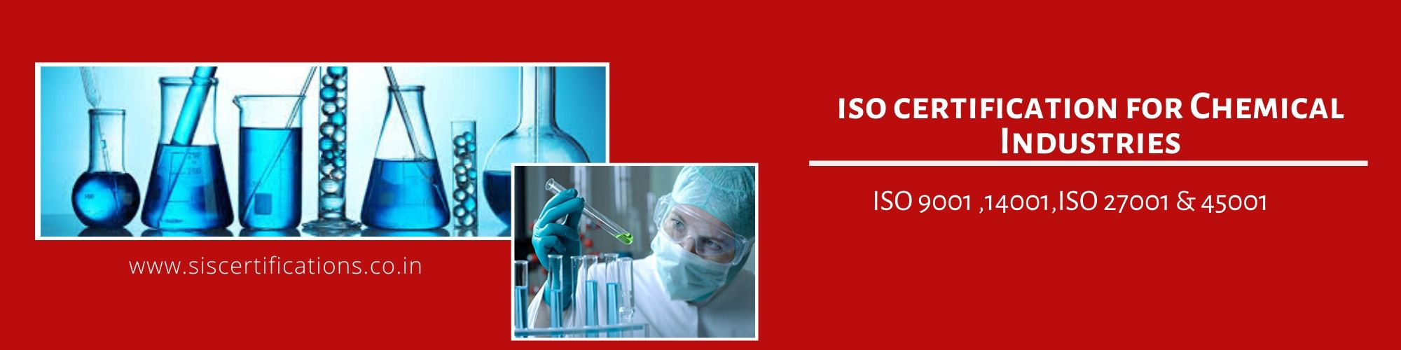 get ISO Certification for Chemical Industries