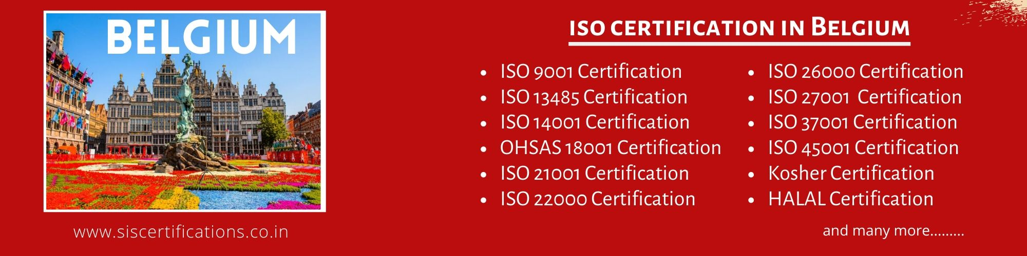 ISO Certification in Belgium