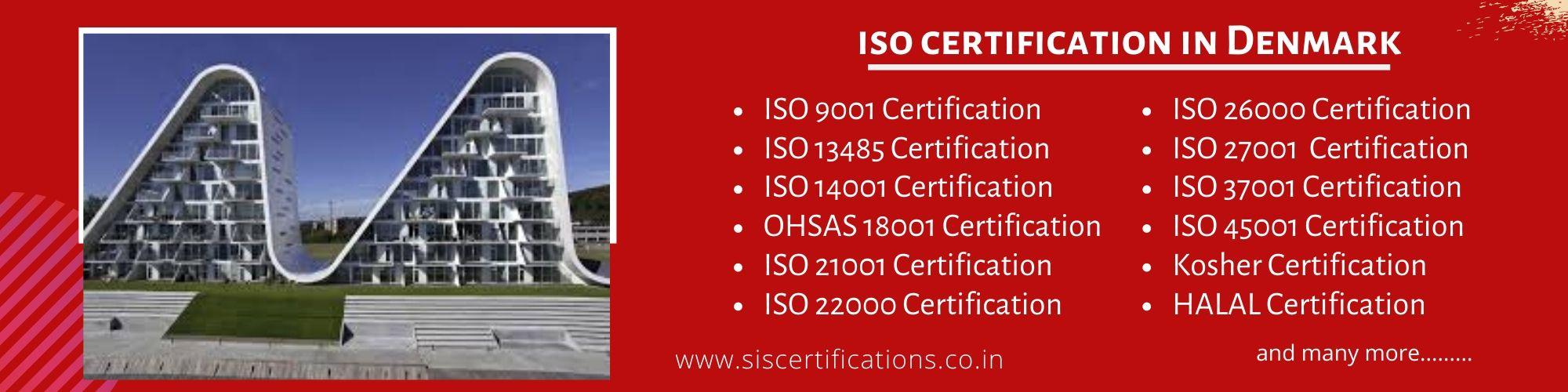 ISO Certification in Denmark