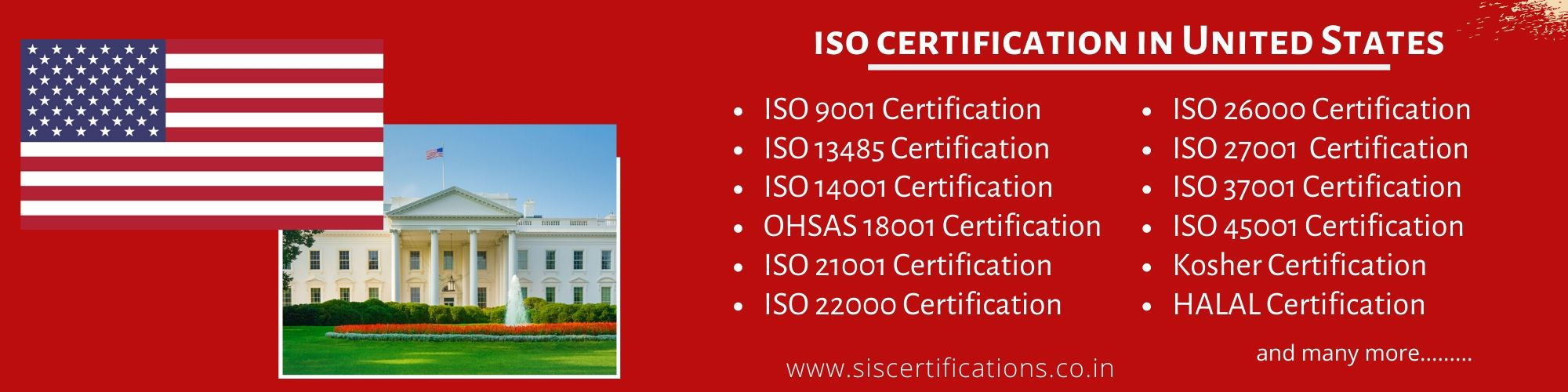 ISO Certification in United states