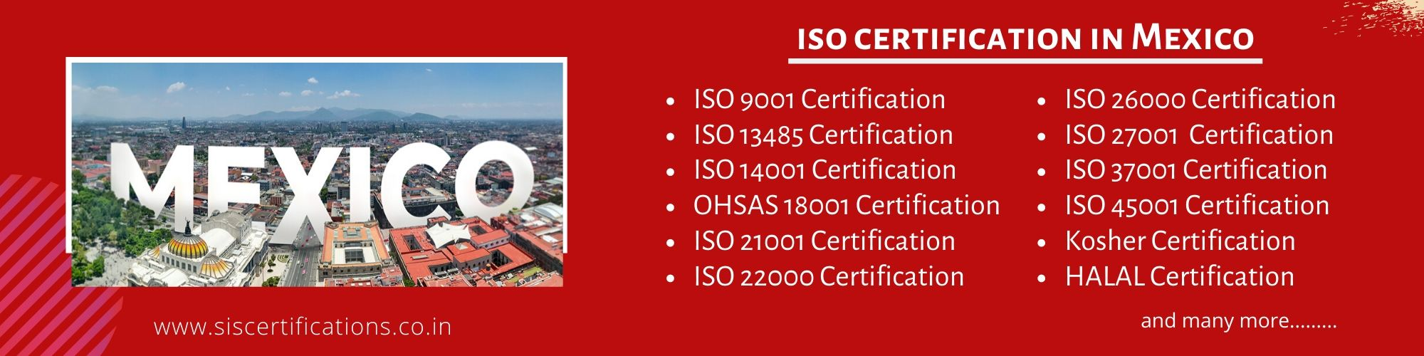 ISO Certification in Mexico