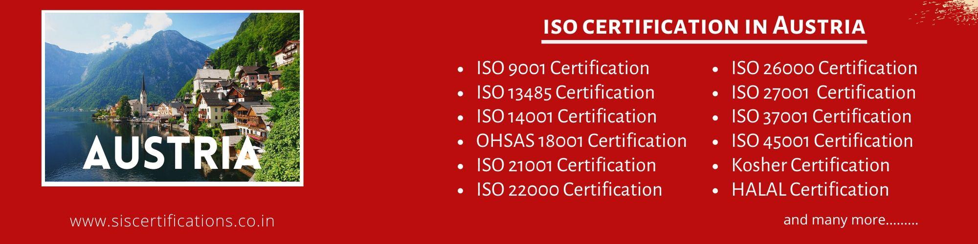 ISO Certification in Austria
