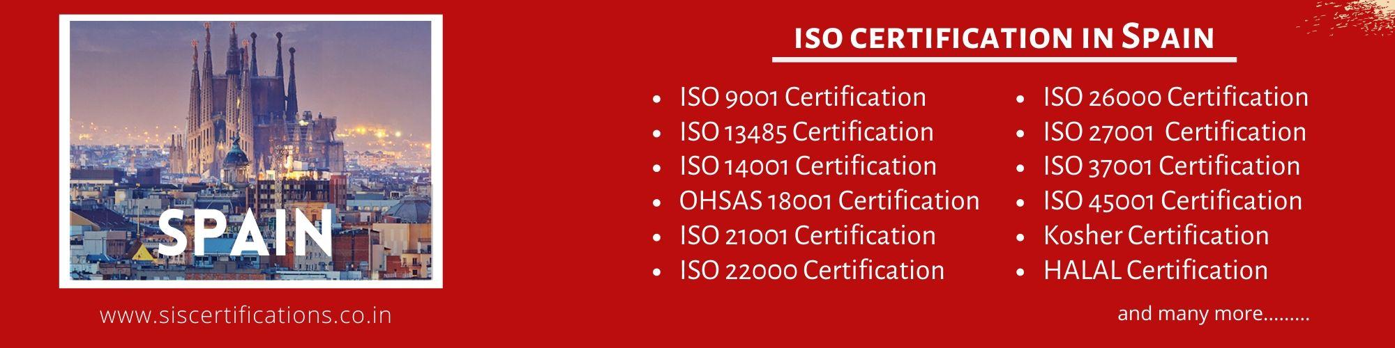 ISO Certification in Spain