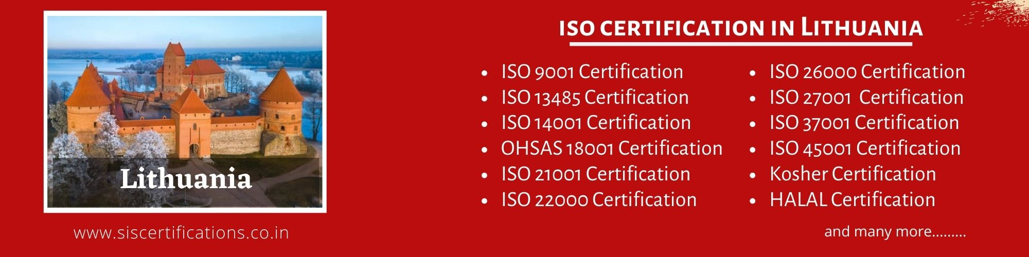 ISO Certification in Lithuania , ISO Certification in Lithuania